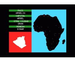 Paises de Africa (1984, MSX, Indescomp)