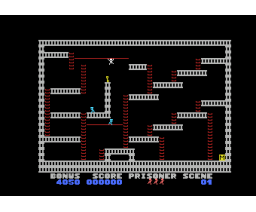 Escape (1984, MSX, Ample Software)