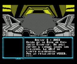 La Aventura Espacial (1990, MSX, Aventuras AD)