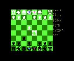 Chess (1984, MSX, B.U.G. Inc.)