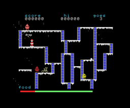 The Snowman (1984, MSX, Quicksilva)