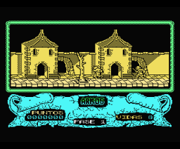 Arkos (1987, MSX, Arcadia Software)