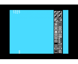 Graphic Editor (1984, MSX, HAL Laboratory)