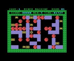 Miner Machine (1987, MSX, Boss Company)