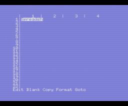 MSX-PLAN (1986, MSX, Microsoft)
