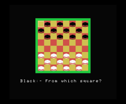 Draughts (1985, MSX, Orpheus)