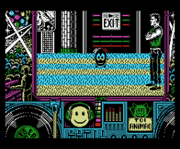 Toi Acid Game (1989, MSX, Iber Soft)