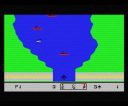 River Raid (1984, MSX, Activision)