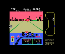 G.P. World (1985, MSX, Sega)