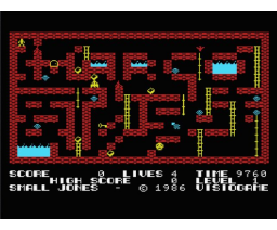 Small Jones (1986, MSX, Visiogame)