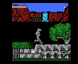 Bloody Paws (2005, MSX, G.LL. Software)