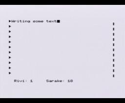 Sanatar (1985, MSX, Markku Sarjala)