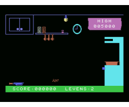 Kitchen Chaos (1986, MSX, R. Ridderman)