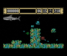 Jaws (1989, MSX, Intelligent Design)