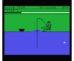 Fisherman (1986, MSX, Robtek Software)