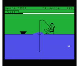 Fisherman (1986, MSX, Robtek Software)