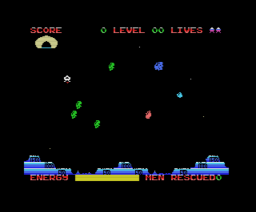 Space Rescue (1986, MSX, The Bytebusters)