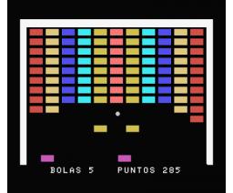 Rompe-Ladrillos (1985, MSX, Indescomp)