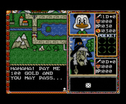 DuckTales (1994, MSX2, Emphasys)