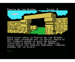 Chichén Itzá (1992, MSX, Aventuras AD)