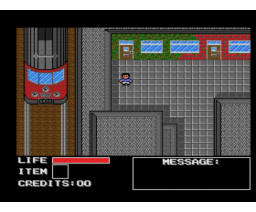 Troubles in Town (1990, MSX2, Meusesoft)