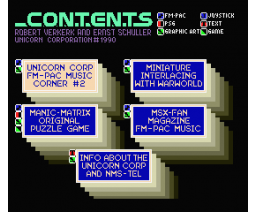 Devestator FM-PAC Demo (1990, MSX2, The Unicorn Corporation)