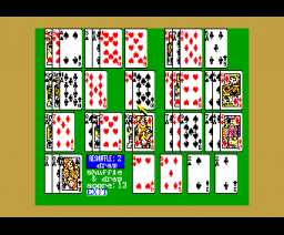Solitaire Royale (1988, MSX2, Game Arts)
