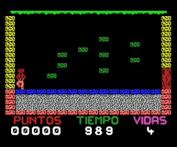 Cavern of Death (1987, MSX, Juliet Software)