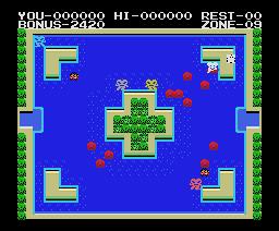 Mopi Ranger (1985, MSX, Konami)