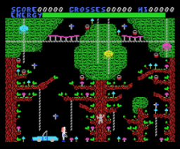 Chiller (1985, MSX, Mastertronic)
