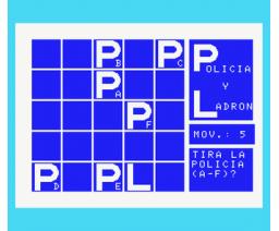 Policia y Ladron (1985, MSX, Club Sony MSX)