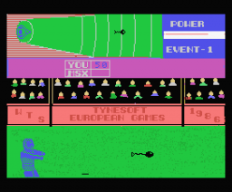 European Games (1987, MSX, Tynesoft)