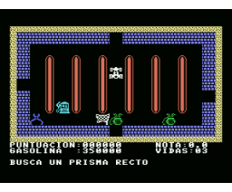 Geometrí­as (1986, MSX, Mind Games España)