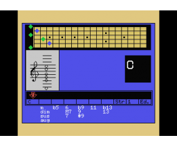 Computer Music Workshop 3 - Guitar Chord Master (1985, MSX, YAMAHA)