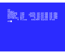 (Philips) MSX-DOS (1986, MSX, Philips)