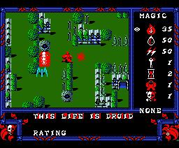 Druid (1988, MSX2, Nippon Dexter)