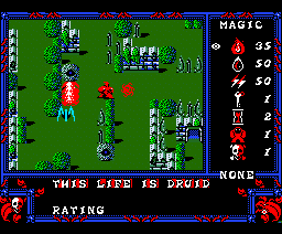 Druid (1988, MSX2, Firebird)