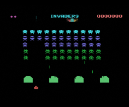 Invaders (1986, MSX, Livewire)