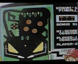 Konami's Pinball (MSX, Konami)