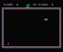 Snakes (1985, MSX, Knights Computers)