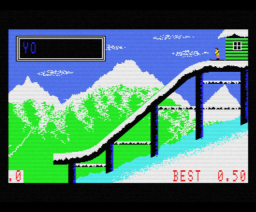Winter Events (1987, MSX, Anco)