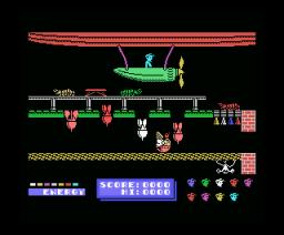 Dynamite Dan (1986, MSX, Mirrorsoft)