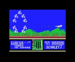 Scarlet 7 (1986, MSX, Soft Pro)