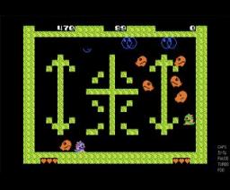 Bubble Bobble (1990, MSX, Clover)