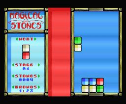 Magical Stones (2005, MSX, Dioniso)