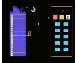 Noria de Números (1985, MSX, Anaya Multimedia)