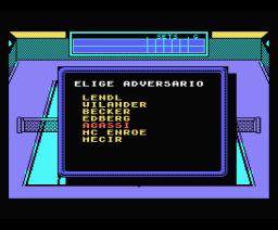Emilio Sánchez Vicario Grand Slam (1989, MSX, Zigurat)