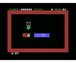 Blocker (1985, MSX, Grupo de Trabajo Software (G.T.S.))