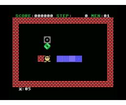Blocker (1985, MSX, Grupo de Trabajo Software (G.T.S.))