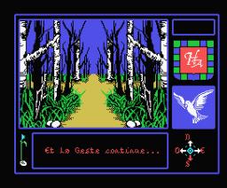 La Geste d'Artillac (1985, MSX, Infogrames)